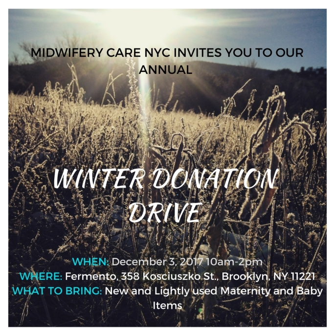 MIDWIFERY CARE NYC INVITES YOU TO OUR ANNUAL (1)